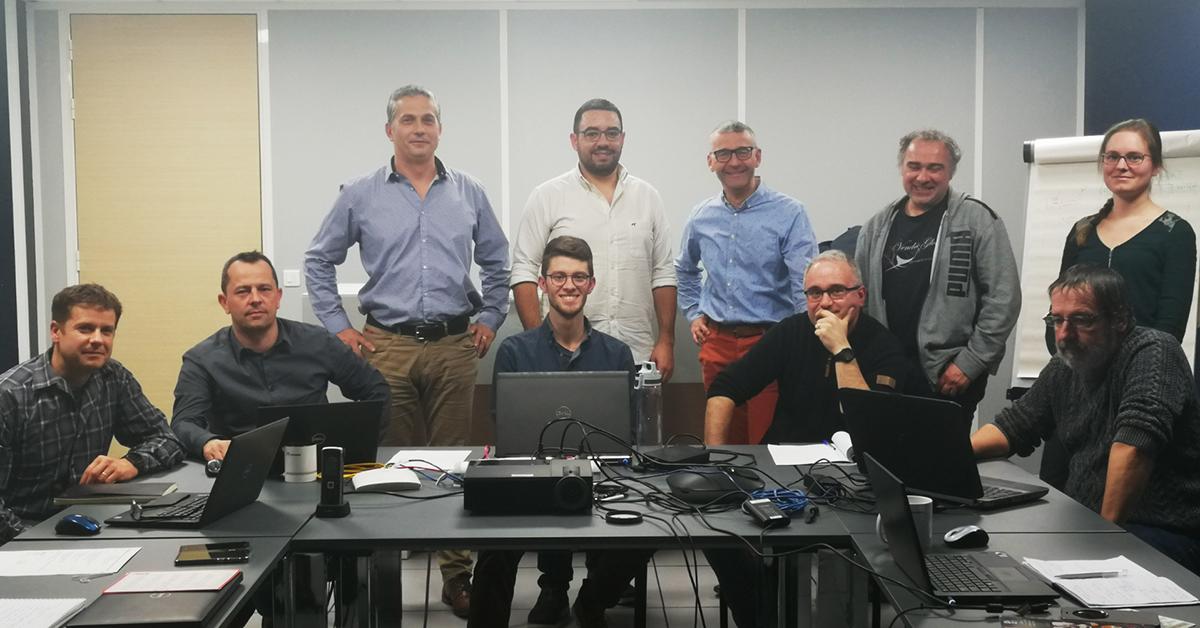 Secheron company with straton team