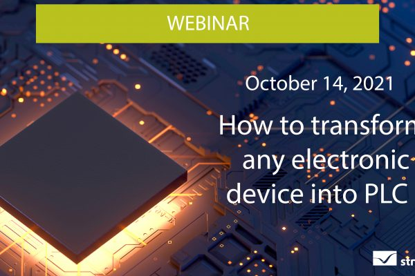 Webinar: How to transform any electronic device into a PLC?